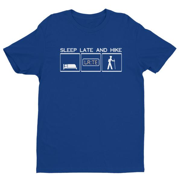 Next Level short sleeve men's t-shirt with creme white logo